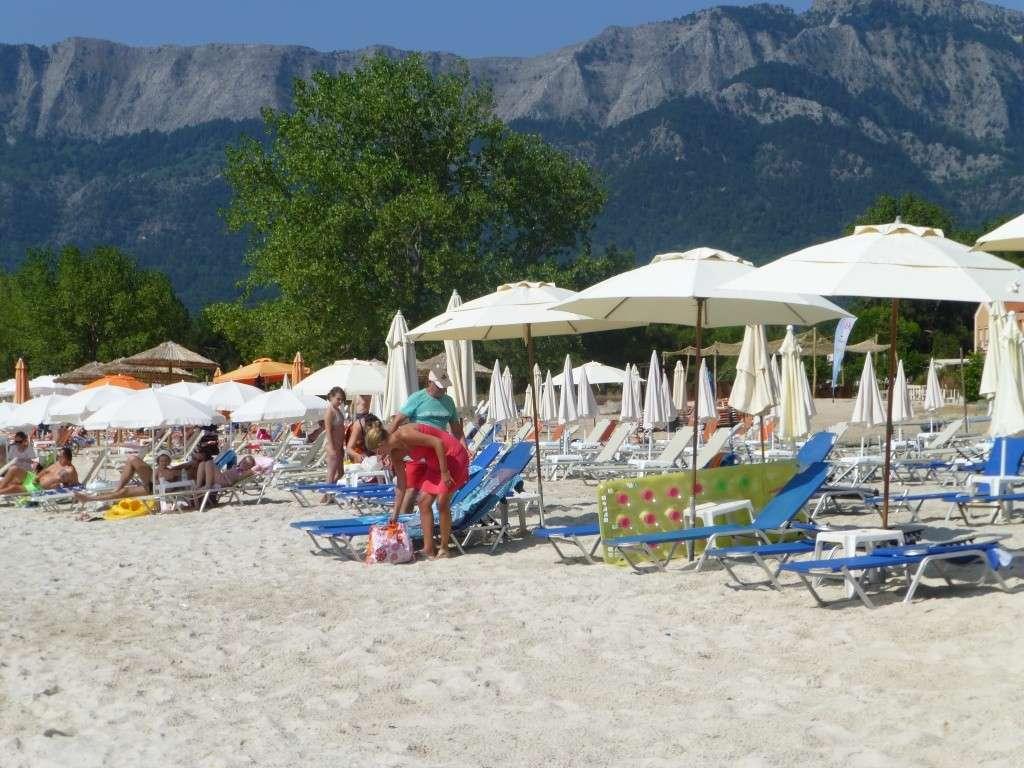 Greece, the Island of Thassos, Golden Beach walk 77310