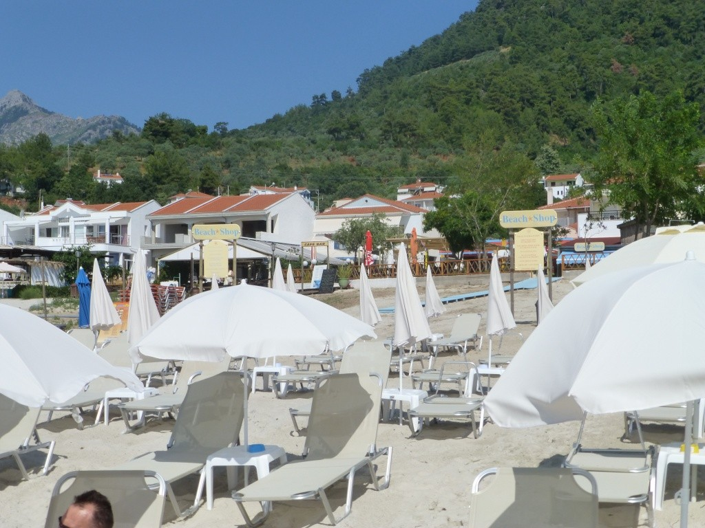 Greece, the Island of Thassos, Golden Beach walk 77510