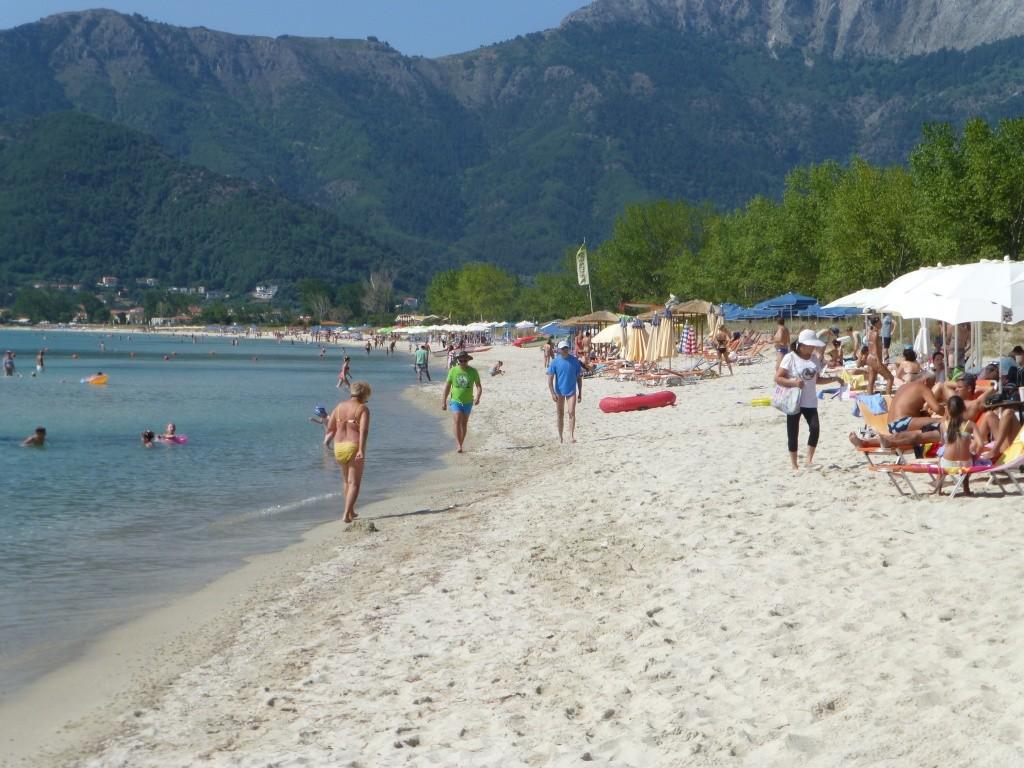 Greece, the Island of Thassos, Golden Beach walk 77610