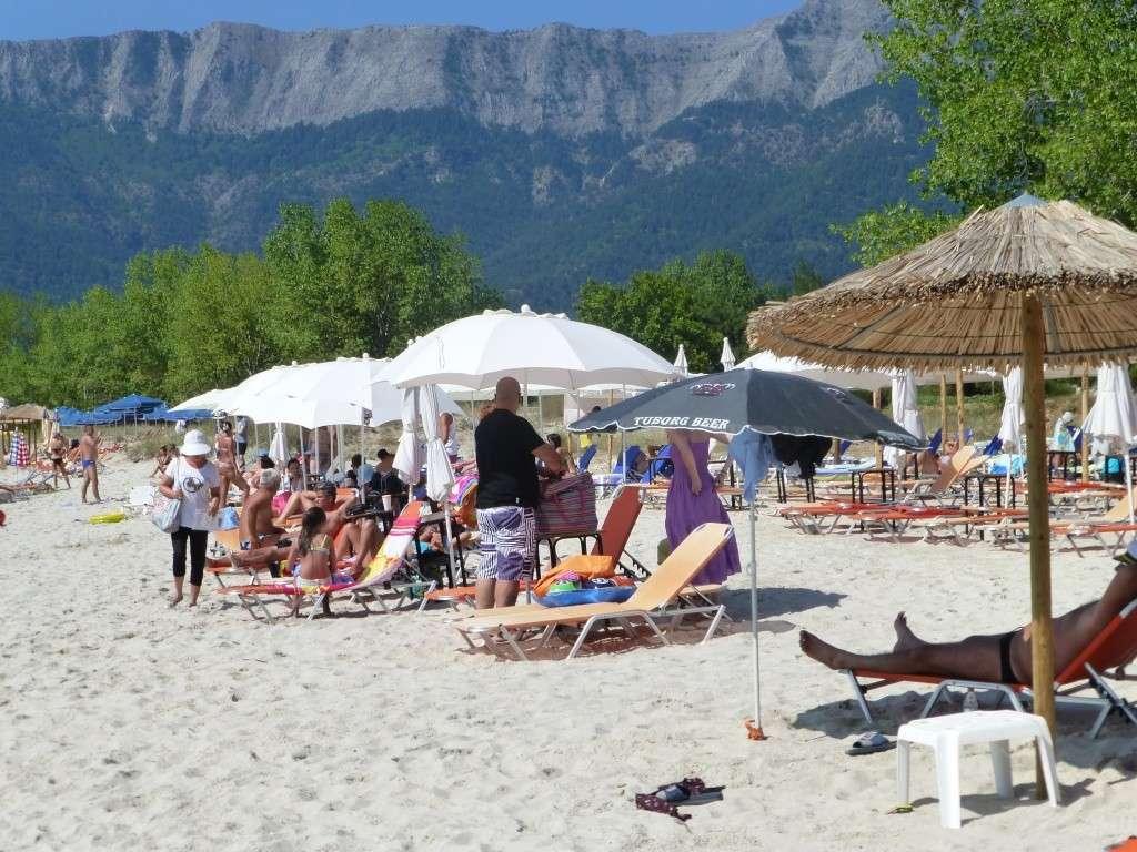 Greece, the Island of Thassos, Golden Beach walk 77710