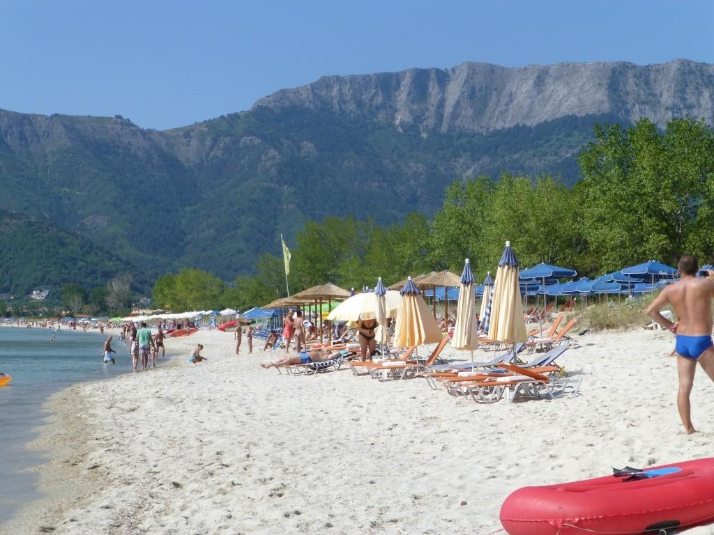 Greece, the Island of Thassos, Golden Beach walk 77810