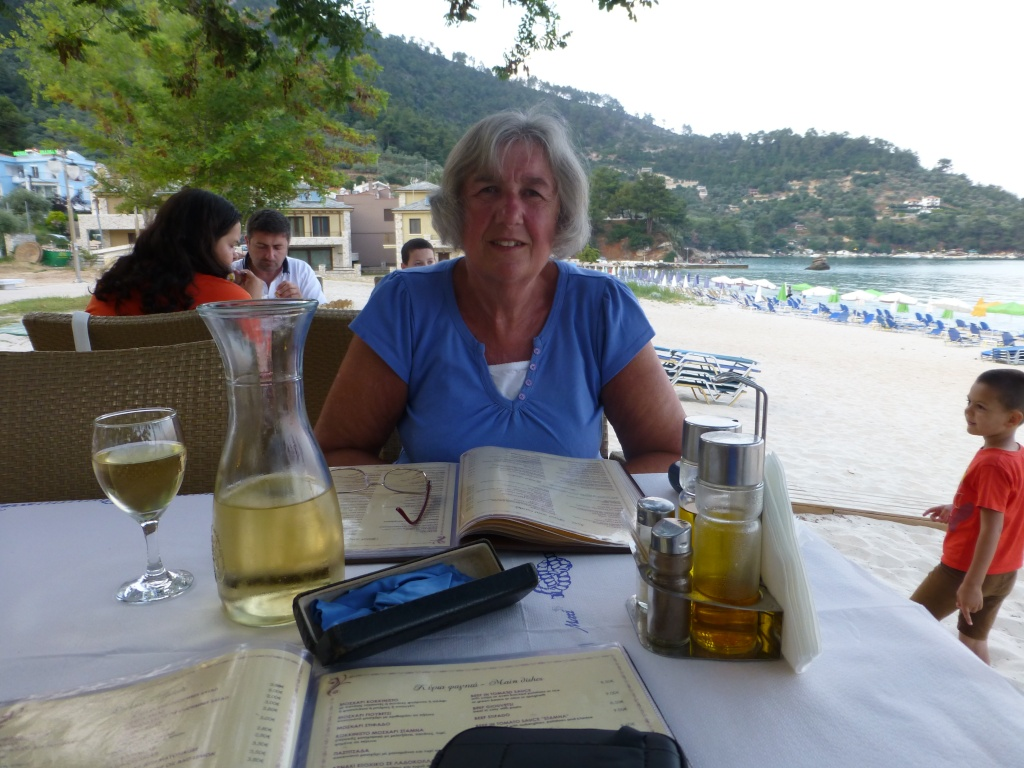Greece, Island of Thassos, Golden Bay, 2013 86110
