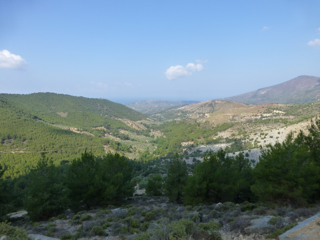 Greece, the Island of Thassos, The Ipsarion Mountain climb by 4x4 87610