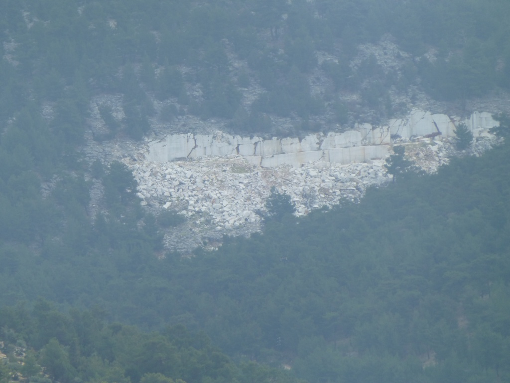 Greece, the Island of Thassos, The Ipsarion Mountain climb by 4x4 88710