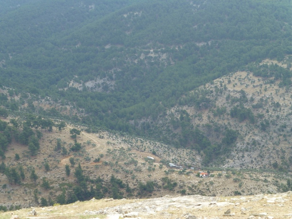 Greece, the Island of Thassos, The Ipsarion Mountain climb by 4x4 89310