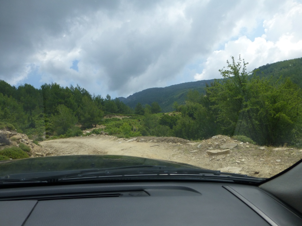 Greece, the Island of Thassos, The Ipsarion Mountain climb by 4x4 91710