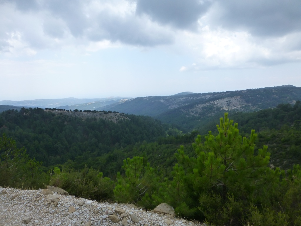 Greece, the Island of Thassos, The Ipsarion Mountain climb by 4x4 92110