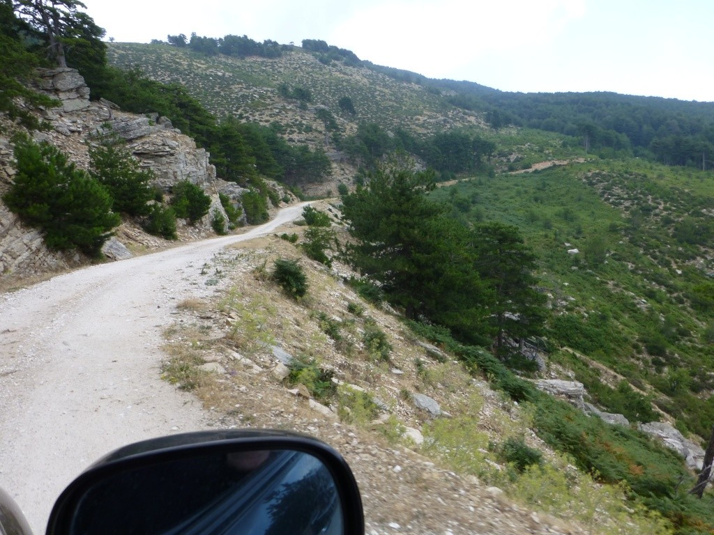 Greece, the Island of Thassos, The Ipsarion Mountain climb by 4x4 92910
