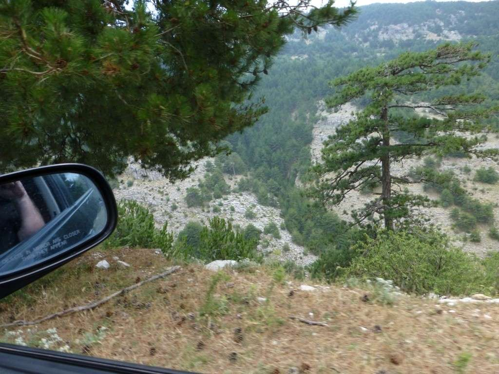 Greece, the Island of Thassos, The Ipsarion Mountain climb by 4x4 93010