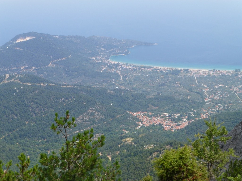Greece, the Island of Thassos, The Ipsarion Mountain climb by 4x4 93310