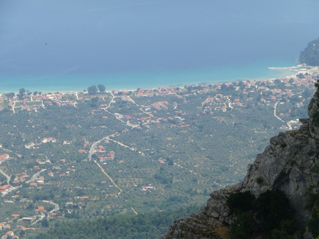 Greece, the Island of Thassos, The Ipsarion Mountain climb by 4x4 93710