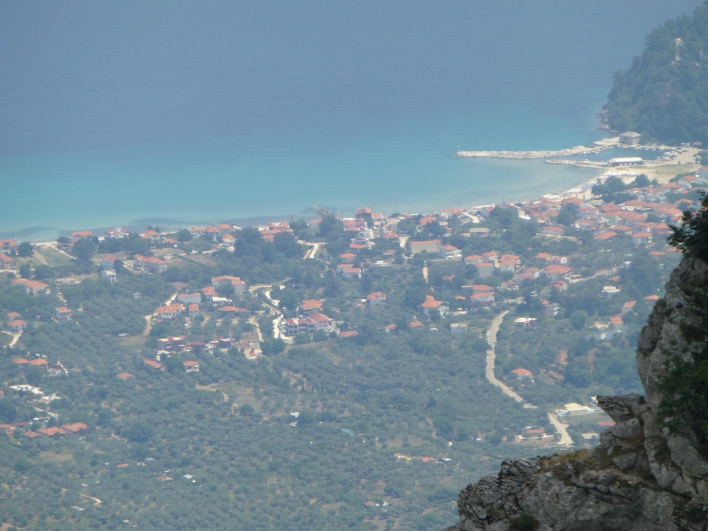 Greece, the Island of Thassos, The Ipsarion Mountain climb by 4x4 93810