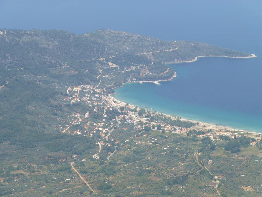 Greece, the Island of Thassos, The Ipsarion Mountain climb by 4x4 96610