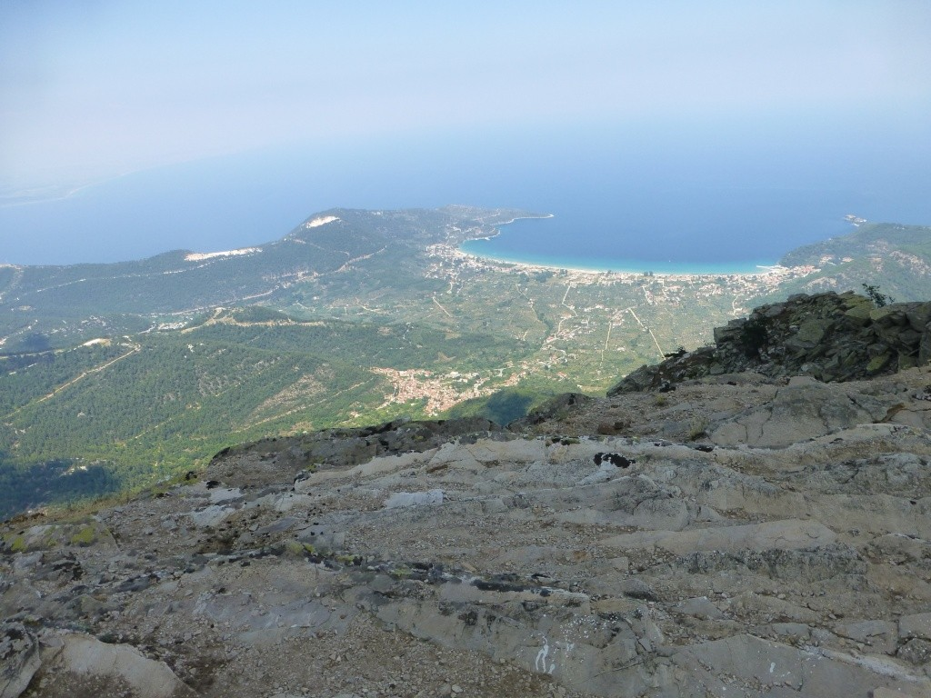 Greece, the Island of Thassos, The Ipsarion Mountain climb by 4x4 97410