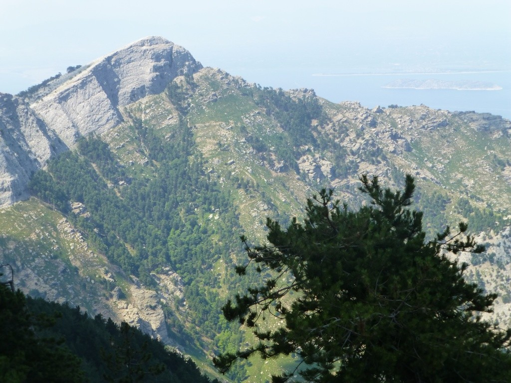 Greece, the Island of Thassos, The Ipsarion Mountain climb by 4x4 97710