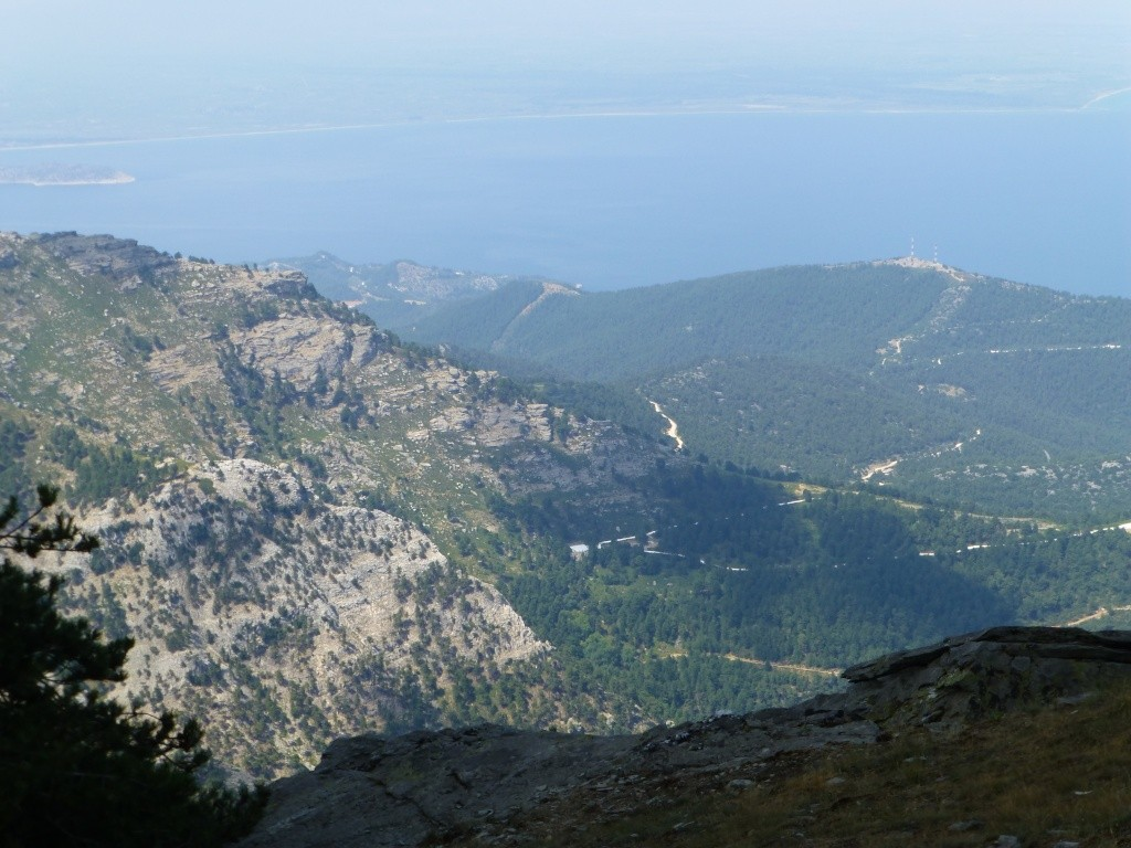 Greece, the Island of Thassos, The Ipsarion Mountain climb by 4x4 97810