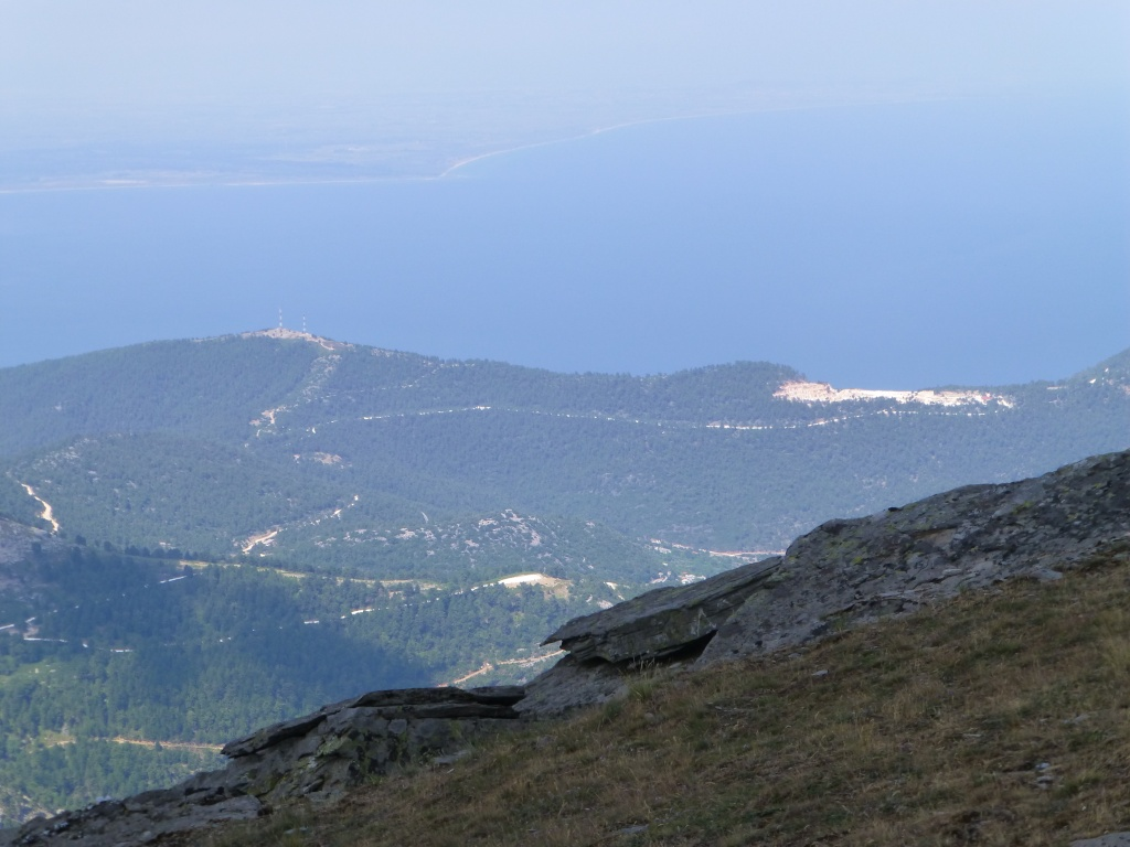 Greece, the Island of Thassos, The Ipsarion Mountain climb by 4x4 97910