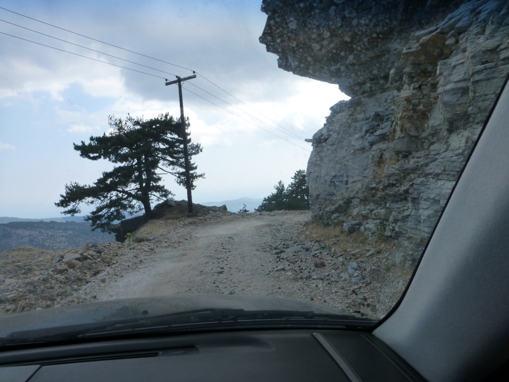 Greece, the Island of Thassos, The Ipsarion Mountain climb by 4x4 98210