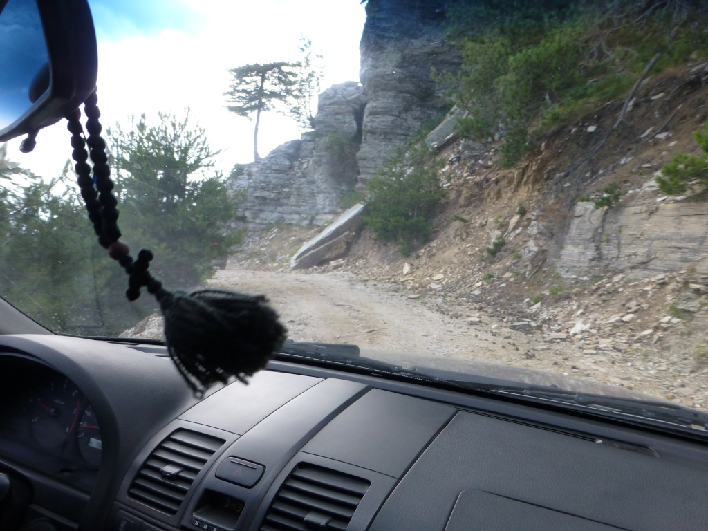 Greece, the Island of Thassos, The Ipsarion Mountain climb by 4x4 98310