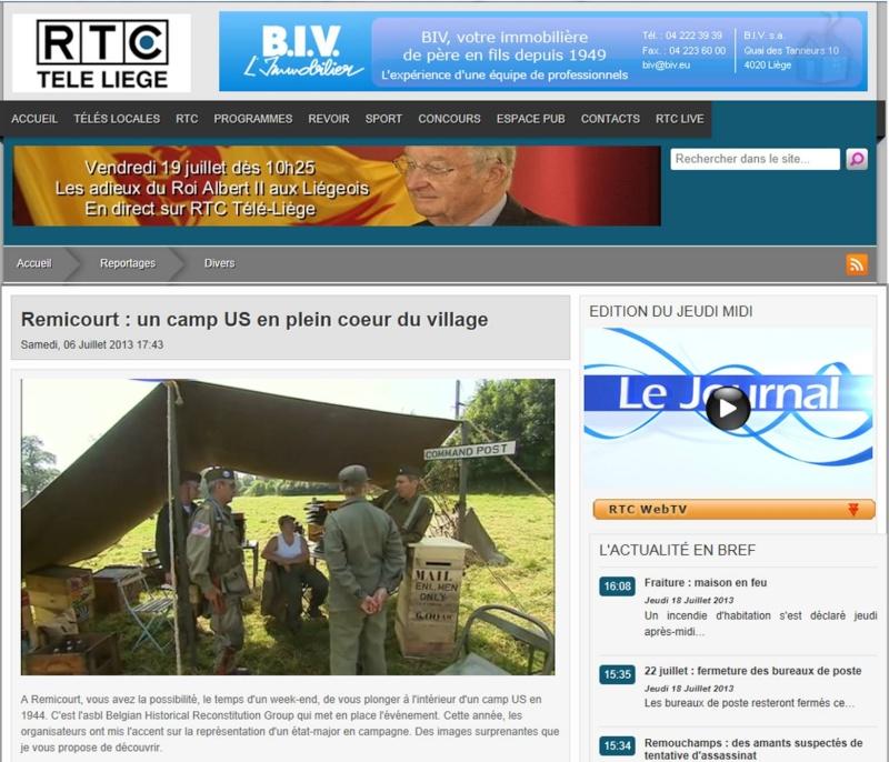A LA TV DE RTC remicourt 5-6-7juillet 2013  Image910