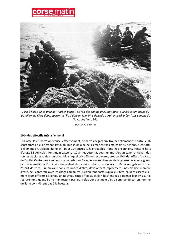 Article sur le 1et bataillon et infos JEAN TOFANI 333