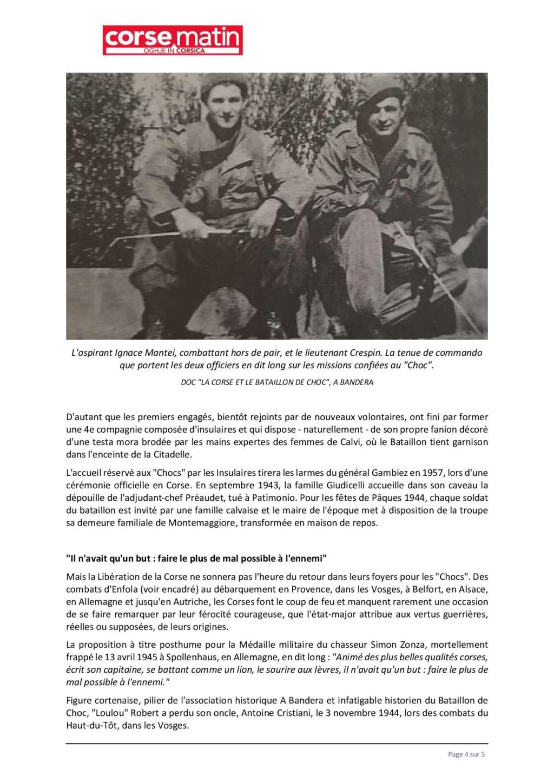 Article sur le 1et bataillon et infos JEAN TOFANI 430