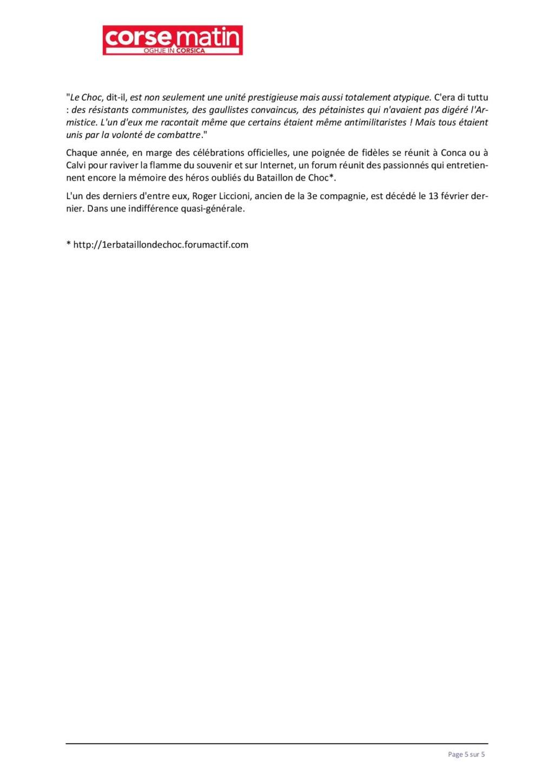 Article sur le 1et bataillon et infos JEAN TOFANI 528