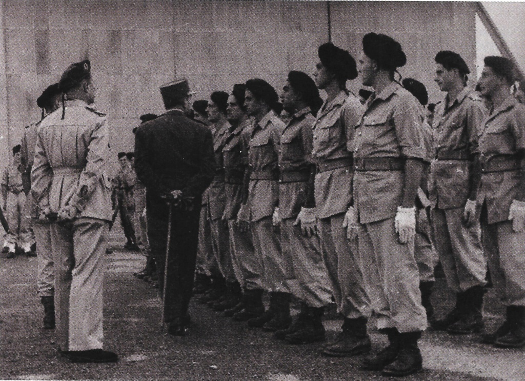 LES INSIGNES DU BATAILLON DE CHOC 1943/1963. - Page 3 Agadir10