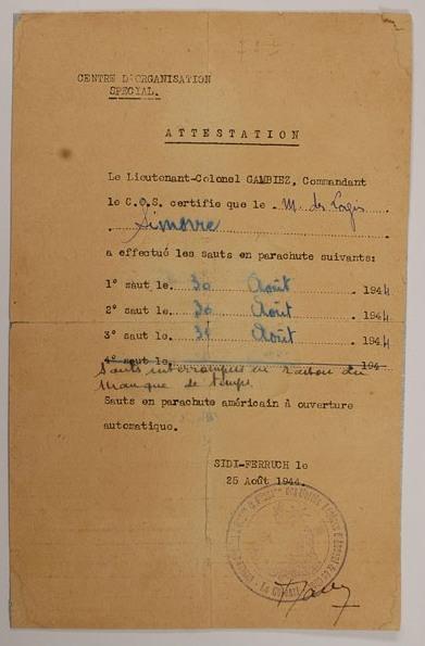 Complément de Recherche sur le Chasseur MARSAUD Louis Attest11