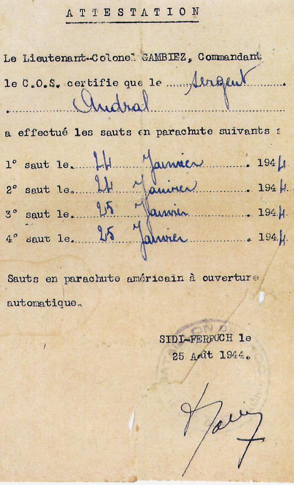 Complément de Recherche sur le Chasseur MARSAUD Louis Attest12