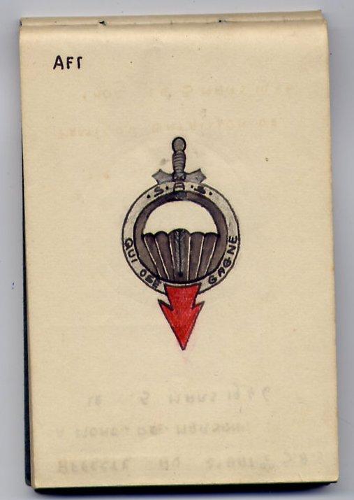 Insigne du 1er Rgt de Parachutistes d'Infanterie de Marine File0044