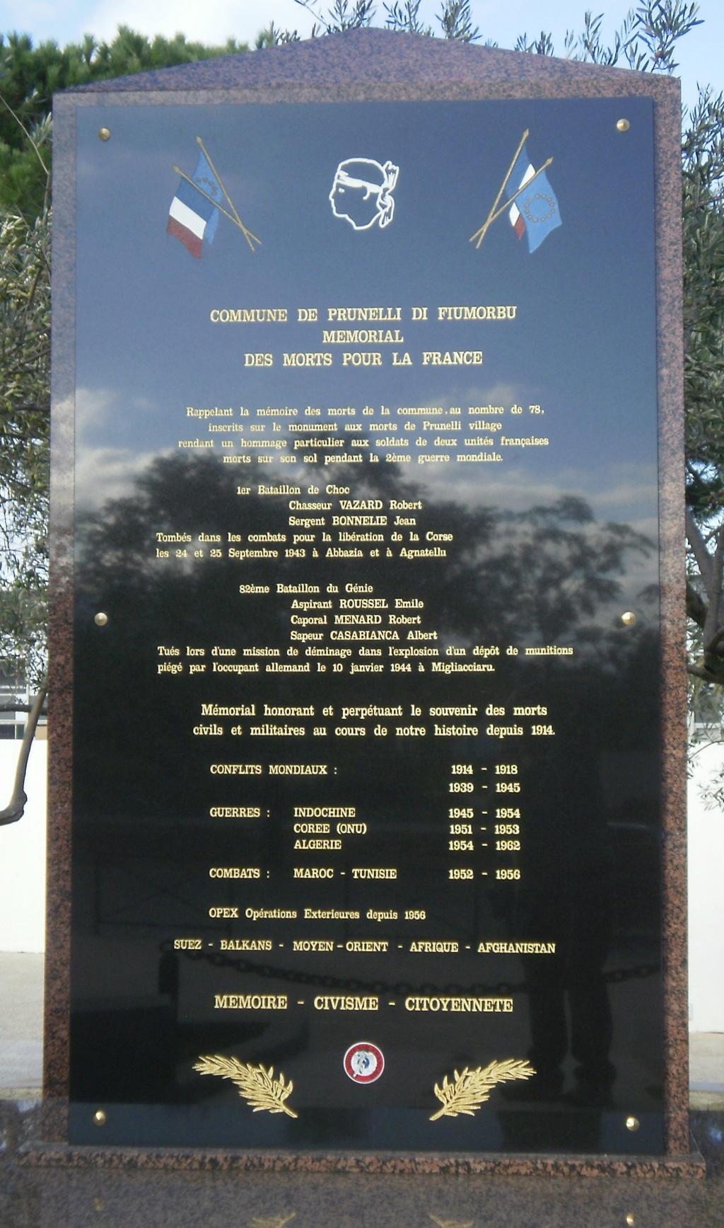 tombes btn-choc carre militaire du cimetière de bastia Monume13
