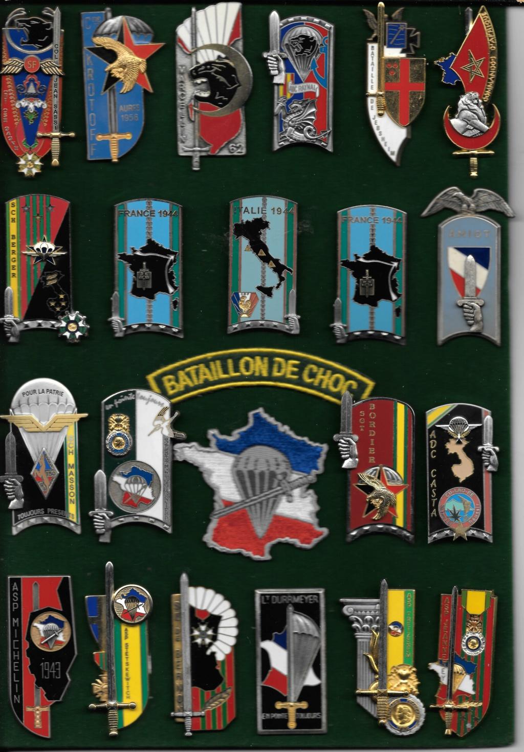 LES INSIGNES DU BATAILLON DE CHOC 1943/1963. - Page 3 Promos23