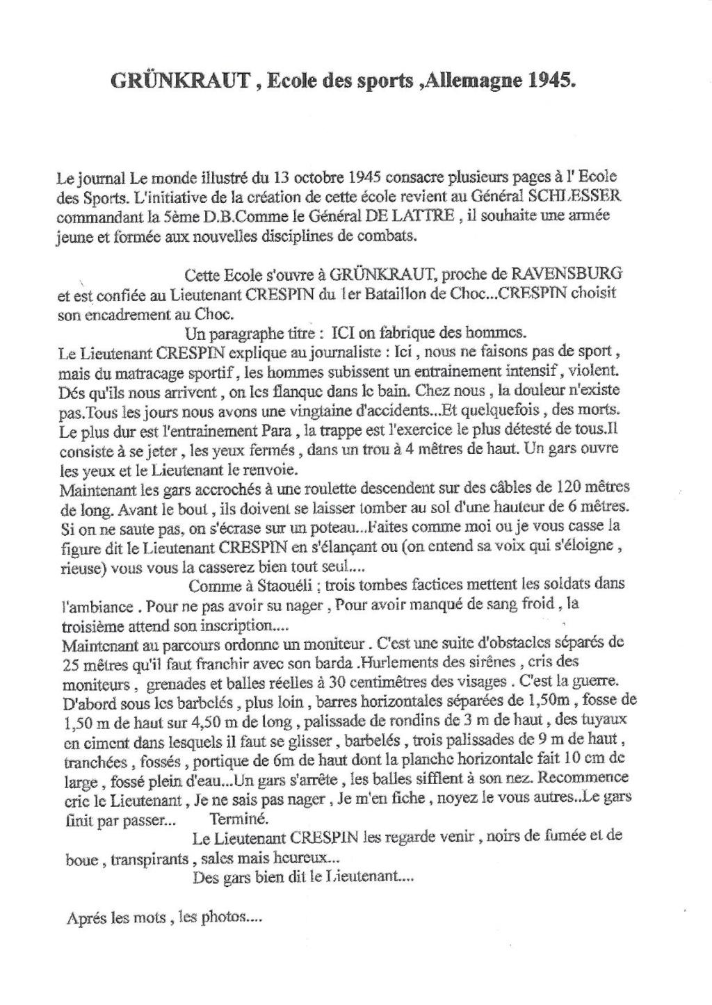 LES INSIGNES DU BATAILLON DE CHOC 1943/1963. - Page 3 Scan0141