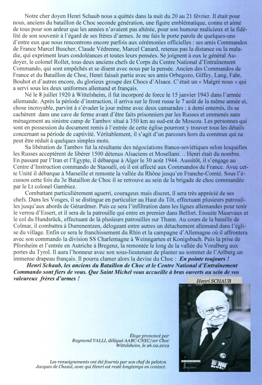 Décés d'Henri SCHAUB Zologe10