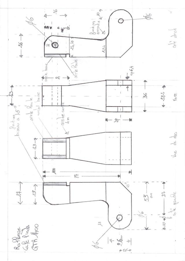 Fabrication vente rallonge cale pieds arriére. 29-12-10