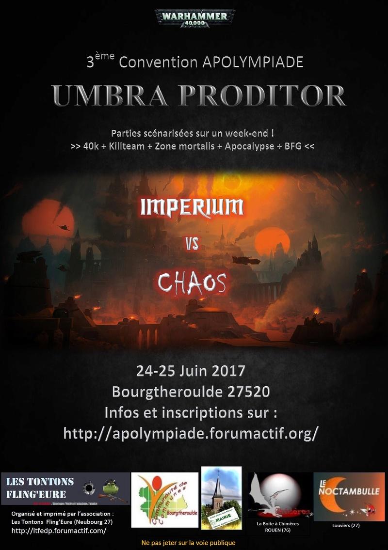 [27] APOLYMPIADE 3 -24-25 juin 2017 - Umbra Proditor Affich11