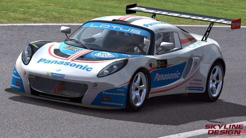 AMS GT3 WORLD CHAMPIONSHIP - RELEASED Lotus10