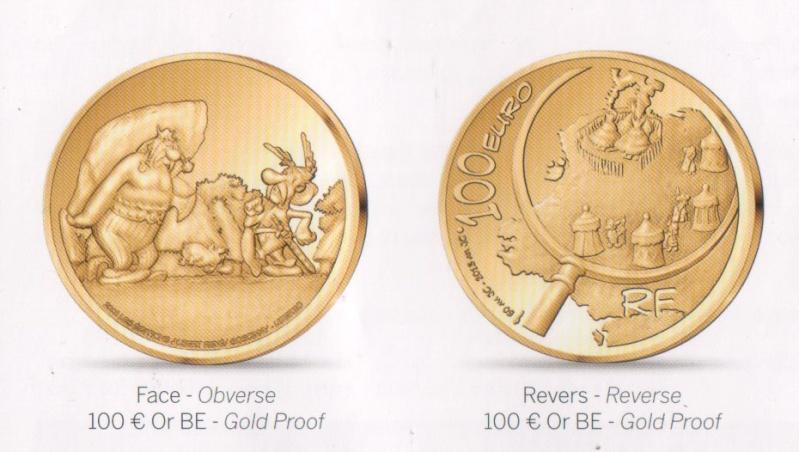 Pièce de collection - La monnaie de Paris avec Astérix (octobre 2013) B15b1110