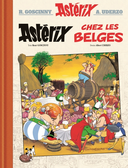 Astérix chez les Belges version Luxe  Hufr10