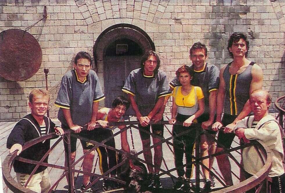 Fort Boyard 1995 - Émission 04 - Équipe Spéciale animateurs Fb_4_110
