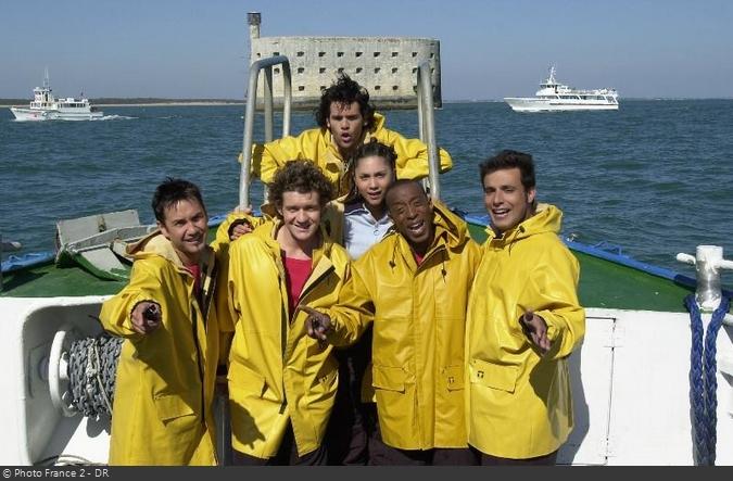Fort Boyard 2002 - Émission 04 - Équipe Bruno Salomone Fort-b17