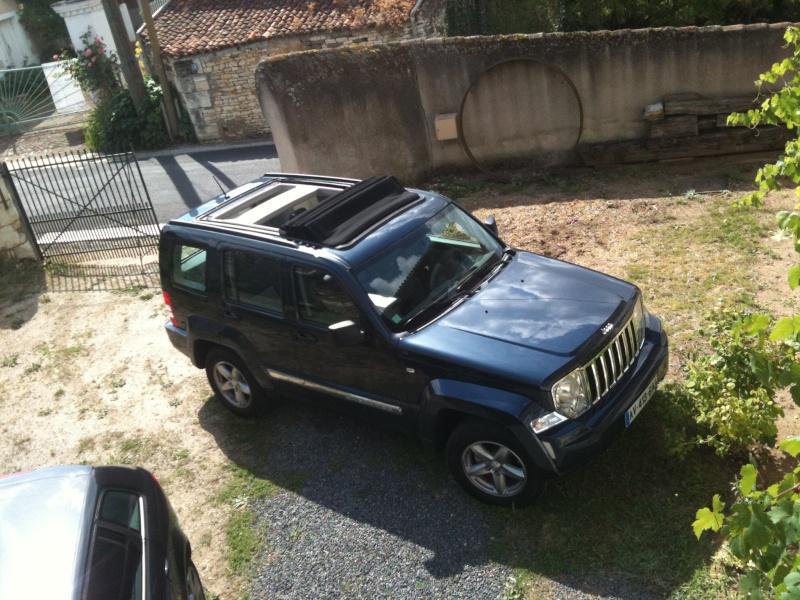Nouveau dans le monde 4x4 avec un Jeep Cherokee Iphone11
