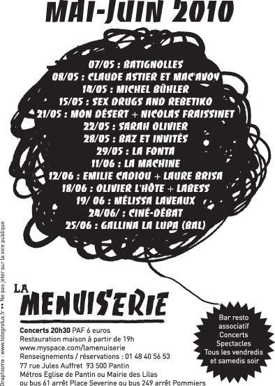 Salle Paul Fort, Le Sablier, La Motte aux cochons, La Menuiserie Menuis10