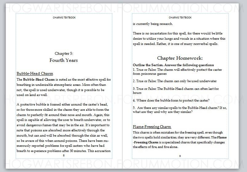 (7/22) OWL&NEWT Bubble-Head Charm: Class 2 Charms13