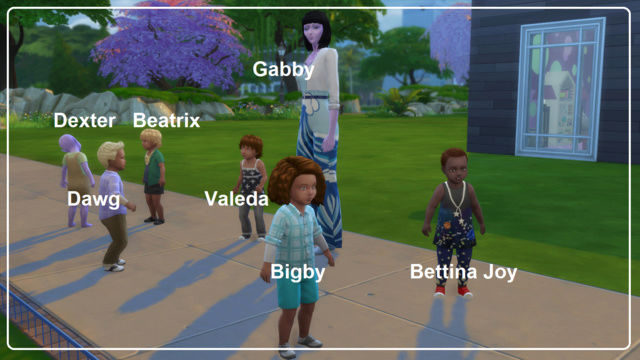 Toddler Mania Challenge Sims 4 by EQ 01161710