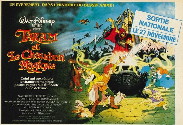 Taram et le Chaudron Magique (1986) Disney 86mick10
