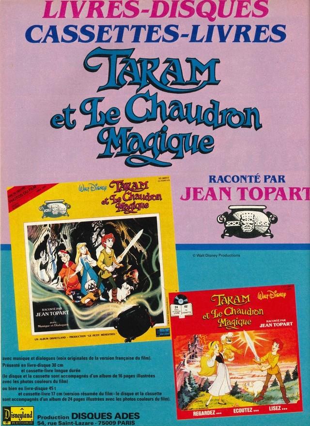 Taram et le Chaudron Magique (1986) Disney 86mick11
