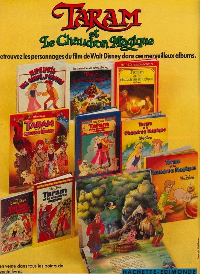 Taram et le Chaudron Magique (1986) Disney 86mick14