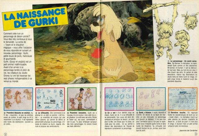 Taram et le Chaudron Magique (1986) Disney 86mick15